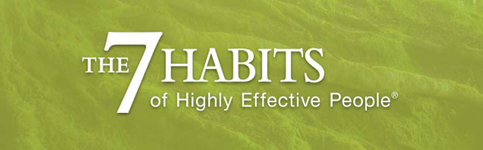 The New 7 Habits Of Highly Effective People